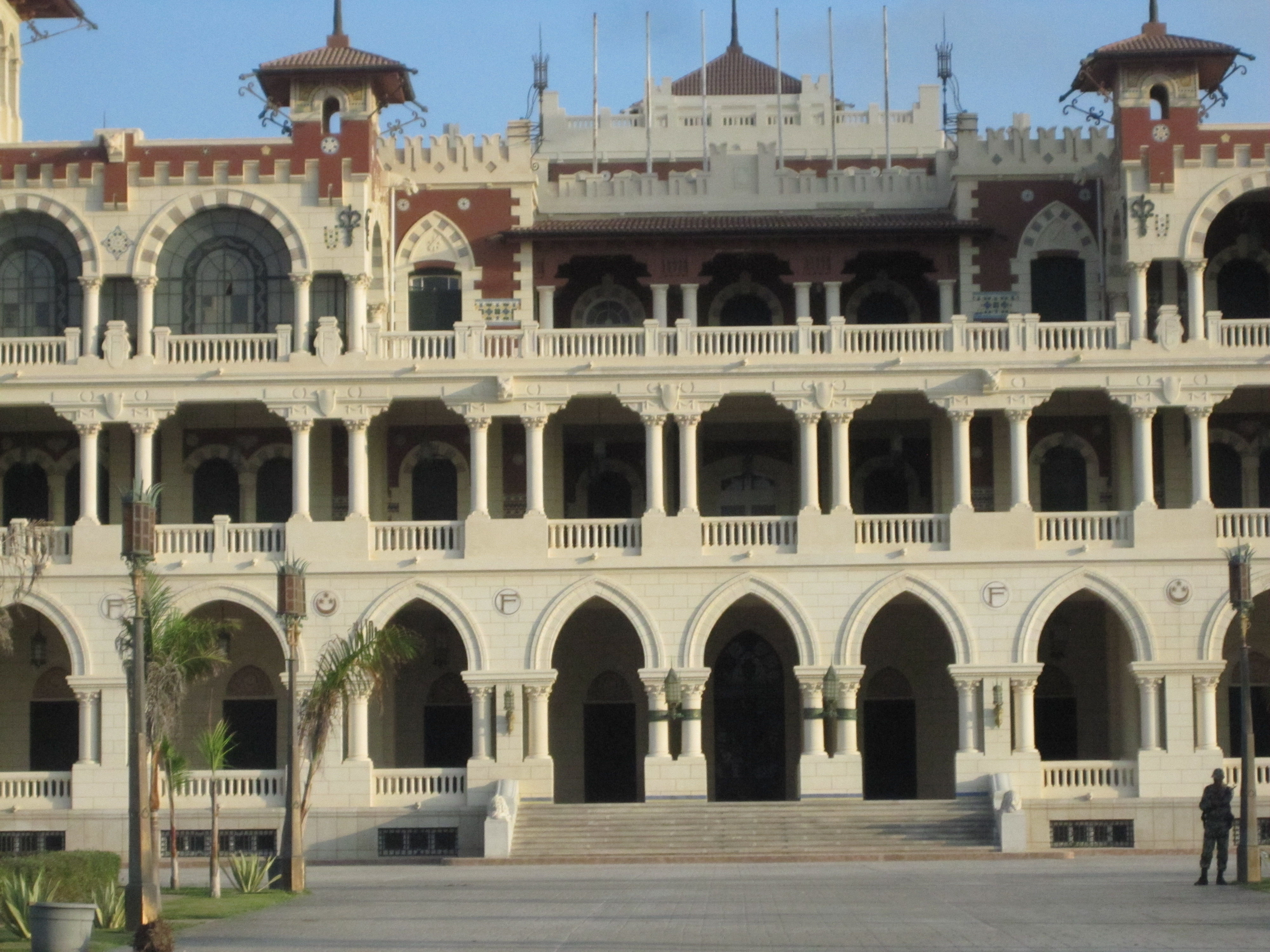 Alessandria, il Palazzo di Montazah