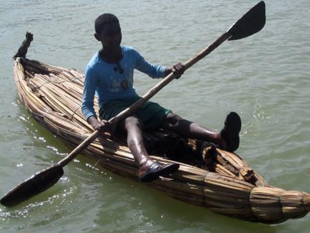 Sul lago Tana