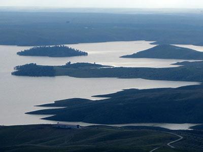 Extremadura, lagos de Puebla de Alcocer