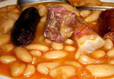 Fabada asturiana....