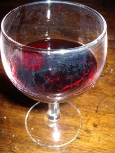gastronomia - vino bicchiere