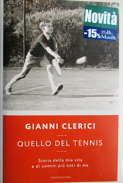gianni clerici QUELLO DEL TENNIS