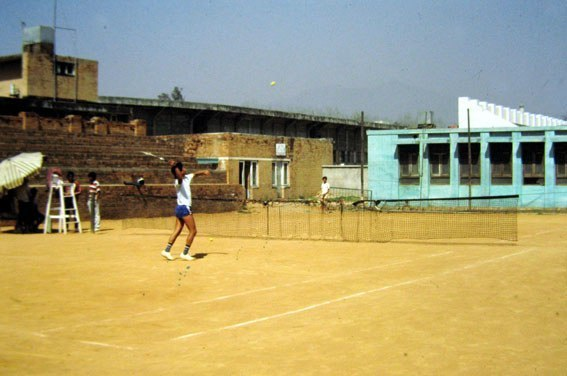 Tennis a Katmandu