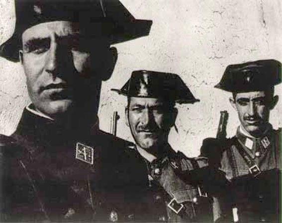 Guardia Civil in Extremadura, anni '5'
