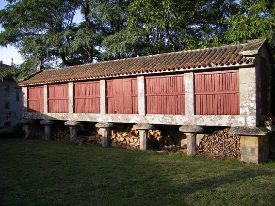 Un Horreo in Galizia