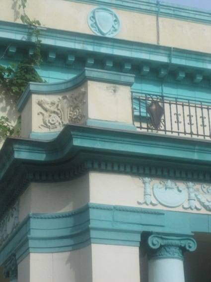 Casa a La Avana (ma sembra Atene inizio '900)