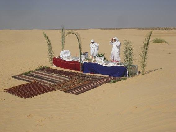 Tè nel deserto (non in Giordania)