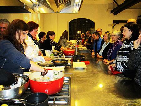 A scuola di gastronomia, la Kozina del (territorio del) Monte Athos