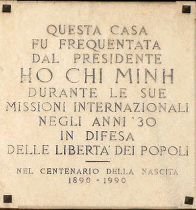 Storico... Ho Chi Minh a Milano...