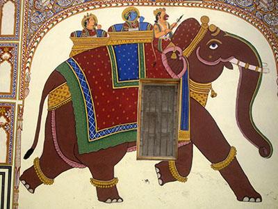 Cambio posto sull'elefante, 5 euro