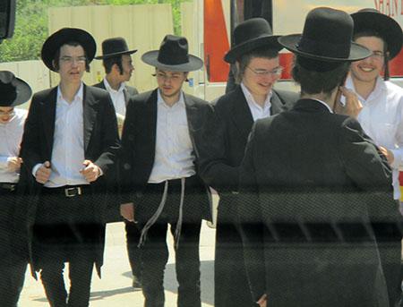 Ortodossi a Safed (vedi resoconti Gita in Israele)