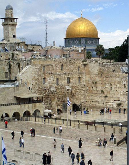 Gerusalemme, Muro del Pianto e Dome of the Rocks