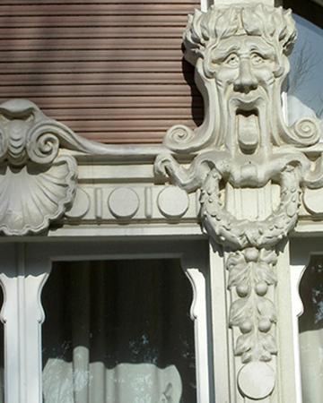 Bel dettaglio del Grand Hotel di Rèmmin (Rimini)