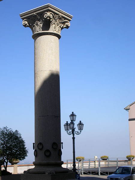 Colonna dell'ospitalità a Bertinoro