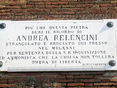 """Andrea Relencini, bruciato dai """"Prit"""""""