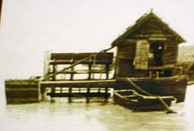 Antica immagine dell'antico mulino ....