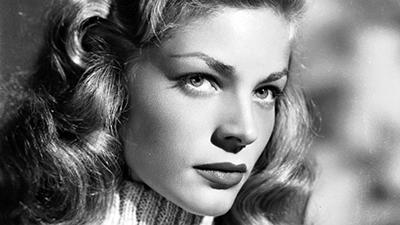 Laureen Bacall era proprio bella (più della Boschi, comunque carina...)