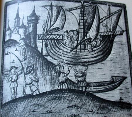 lazzarotto malocello nave medioevale