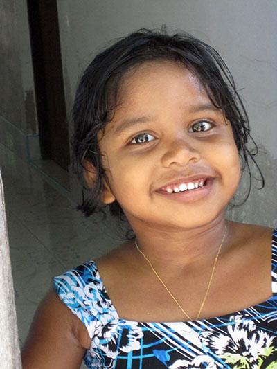 Sorridente figlia di Ibrahim