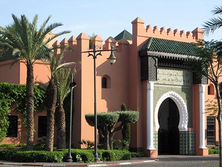 Marrakesh, Hotel Le Mamounia