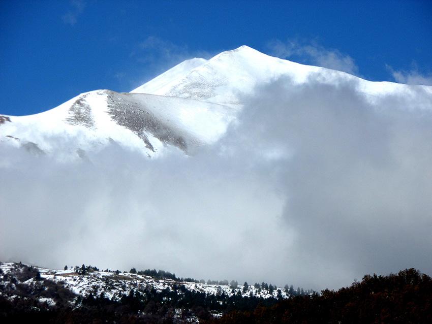 Italia, il monte Vettore