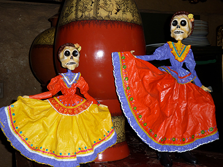 Dia de los muertos in Messico