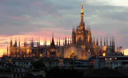 Duomo al tramonto