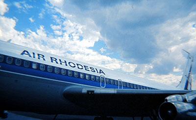 Foto storica... compagnia aerea scomparsa ....