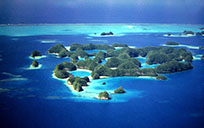 The Rock Islands. Palau, Micronesia