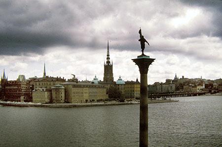 (ma ogni tanto c'è anche il sole...)Stoccolma