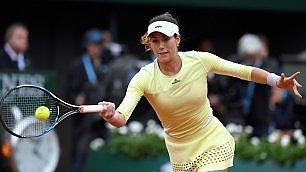 Che bella, la tennista spagnola Garbñe Muguruza (purtroppo già eliminata al torneo di Wimbledon...)....