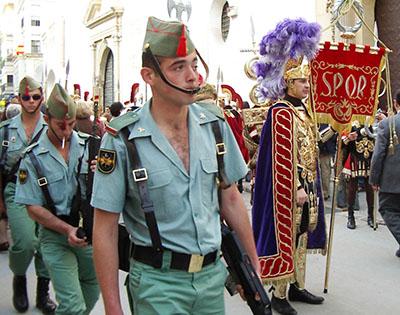 La Legione Straniera spagnola