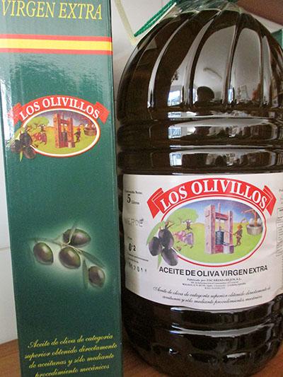 Olio virgen extra andaluso (diffidare da quello del Belpaese....)