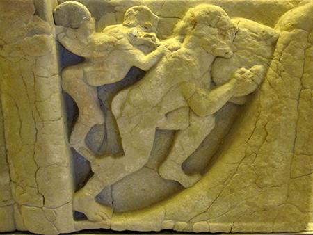 Paestum, fatica di Sisifo