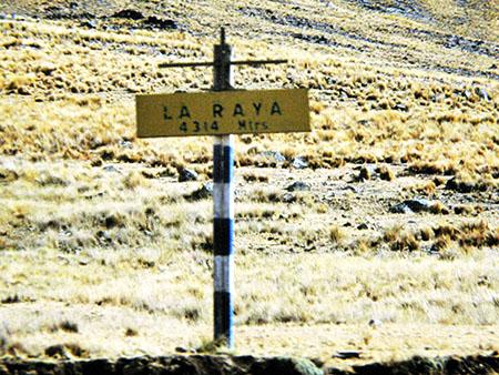 Ferrovia al top delle Ande (peruviane), 4314 m. slm
