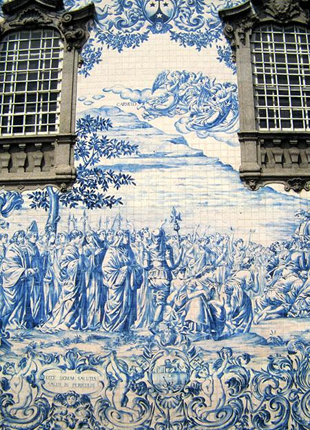 Porto, la chiesa del Carmo