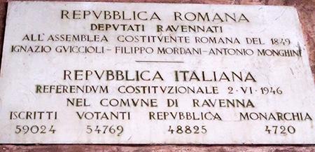 Ravenna, in Romagna ... plebiscito superfluo (vedi risultati, bastava girare in due bar...)