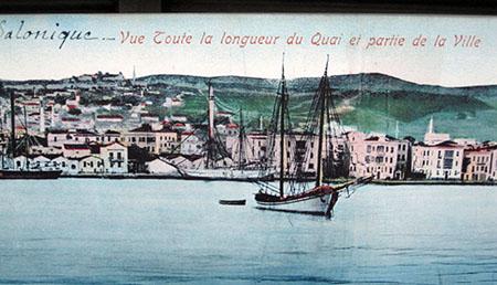 Salonicco e il porto, Museo Ebraico.