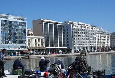 Salonicco, lungomare