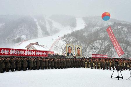 """Andiam sulla montagna...(nordcoreana) ..."
