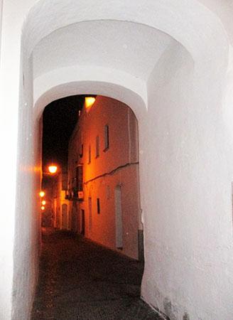 Un calle di Arcos ...