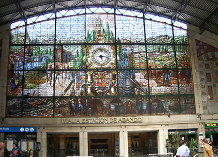 Bilbao, stazione di Abando