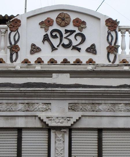 Una delle tante, belle case inizio '900 del Cabanyal