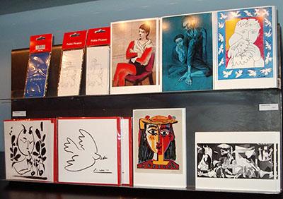 Malaga, Museo Picasso, Boutique