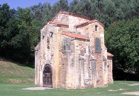 Spagna, Oviedo, San Miguel de Lillo