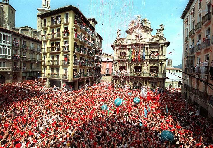 Pamplona, Sanfermines