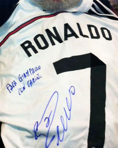 sport Ronaldo y Yo ... camiseta para gian paolo rid