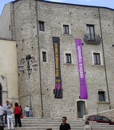 Taurasi, castello di don Gesualdo