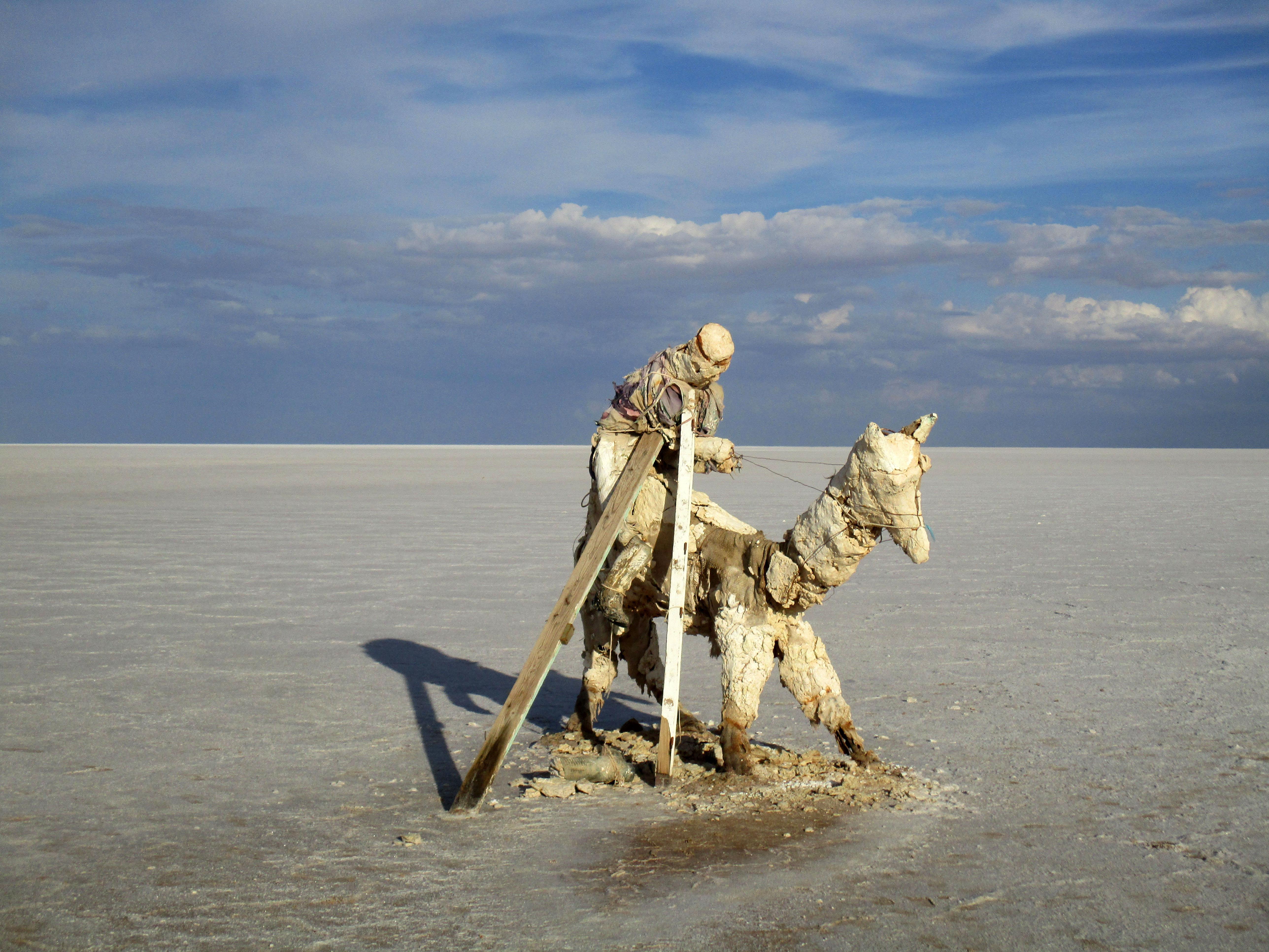 Essendo l'Iraq uno dei (pochi) Paesi al mondo che non ha visto, l'autore pubblica una foto della Tunisia (che ha visto)