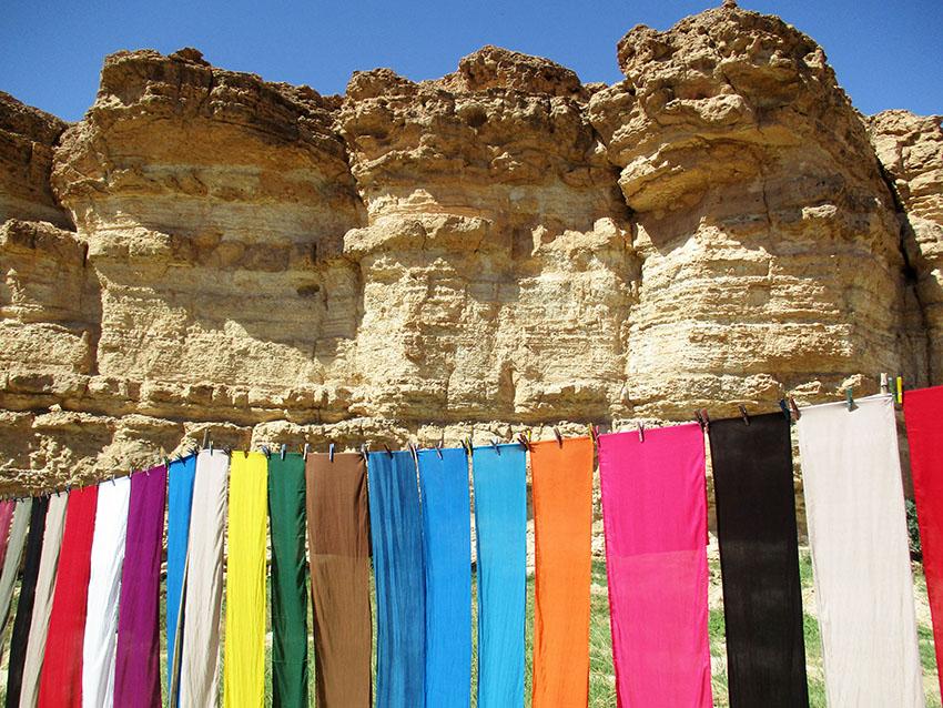 Sui monti del sud della Tunisia